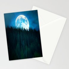 Forest Moon Stationery Cards