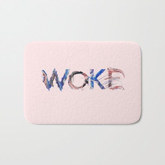Woke Bath Mat