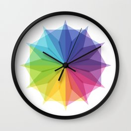 Fig. 010 Colorful Star Shape Wall Clock