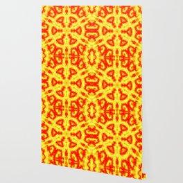 Fire Kaleidoscope 1 Wallpaper