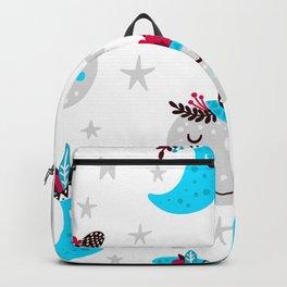cute moon Backpack