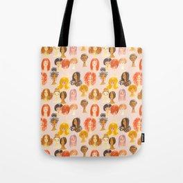 Hair Girls Tote Bag