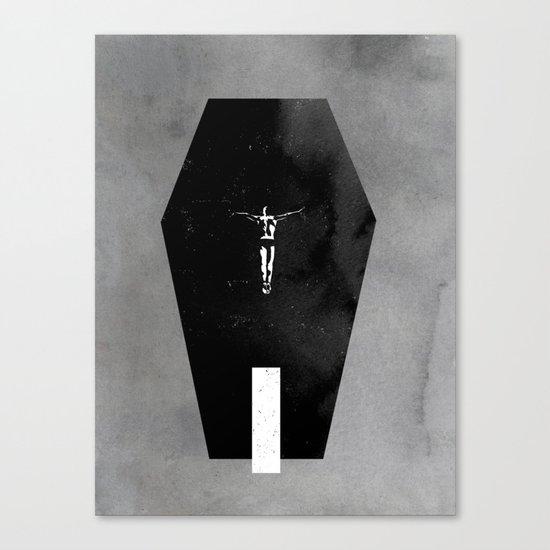 Shallow Grave Canvas Print