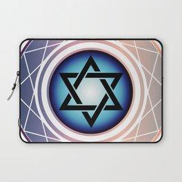 Jewish Star of David Laptop Sleeve