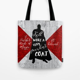 Kell's Peculiar Coat - A Darker Shade of Magic Tote Bag