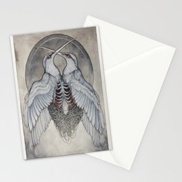 Coalesce art print  Stationery Cards