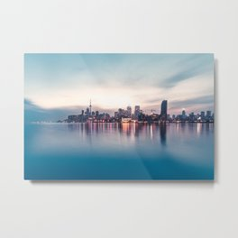 Cold Sunset Metal Print