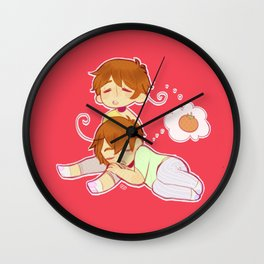 The Macaroni Brothers Wall Clock