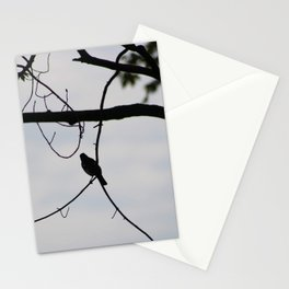 Bird Silohutte and Branches Stationery Cards
