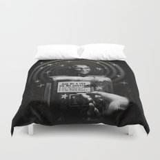 Devil's Question Box Duvet Cover