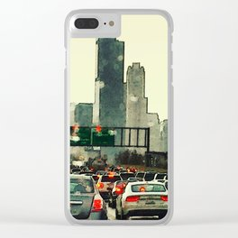 Friday Night Traffic #3 Clear iPhone Case