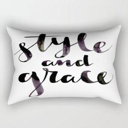 Style and Grace Rectangular Pillow