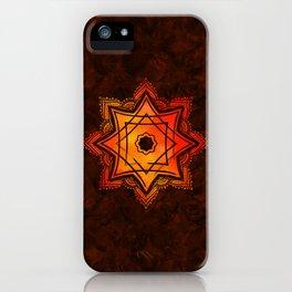 Watercolor Star of Lakshmi - Ashthalakshmi iPhone Case