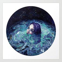 Whirlwind Calm Art Print