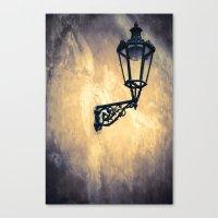 lantern Canvas Prints featuring Lantern by Maria Heyens