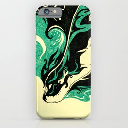 Dreaming Otter iPhone Case