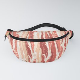 Bacon pattern Fanny Pack