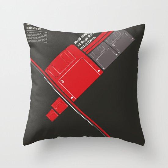 Floppy Disk Throw Pillow
