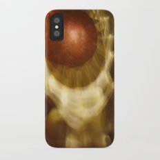 Abstract light reflections Slim Case iPhone X