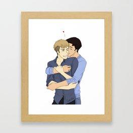 JeanMarco - Hug Framed Art Print