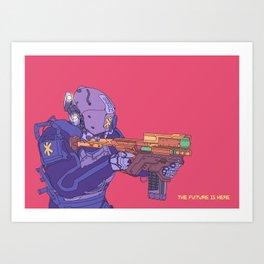 _shutd0wn-r Art Print