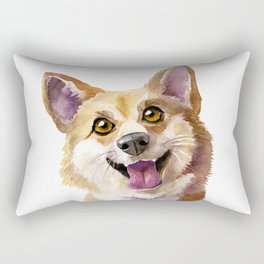 Pembroke Welsh Corgi Puppy Rectangular Pillow