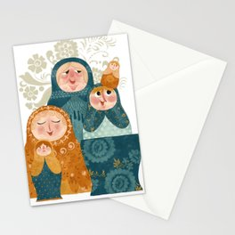 matryoshkas Stationery Cards