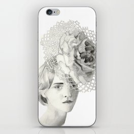 Emma in Bloom iPhone Skin