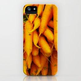 Juicy Carrots iPhone Case