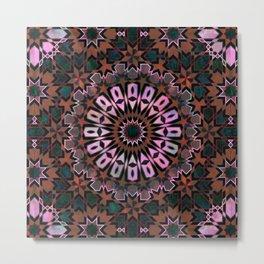 FEZ Moroccan Tiles {4f} Metal Print