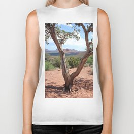 Arizona Horizon - Sedona Red Rocks Biker Tank