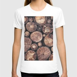 The Wood Holds Many Spirits T-shirt