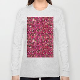 "Charles Rennie Mackintosh ""Roses and teardrops"" edited 1. Long Sleeve T-shirt"