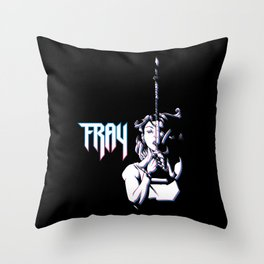 Fray the Lurk Slayer Throw Pillow