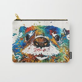 Otter Art - Ottertude - By Sharon Cummings Carry-All Pouch