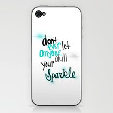Unique Sparkle iPhone & iPod Skin