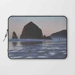 Cannon Beach at Dusk Laptop Sleeve