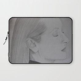 Meryl Streep Profile Laptop Sleeve