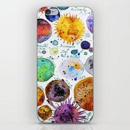 Mini Planets iPhone Skin