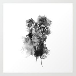 Cath Ink'd Art Print