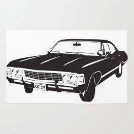 Supernatural Chevrolet Impala 67' Rug