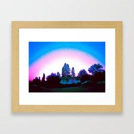 Summer Hood Framed Art Print