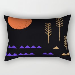 wavy 02 Rectangular Pillow