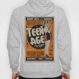 Vintage poster - Teen Age Hoody