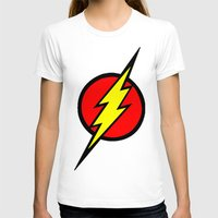 the flash T-shirts featuring Flash by Sport_Designs