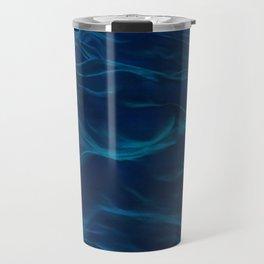 Dark Waves #nature #abstract #artprint #society6 Travel Mug