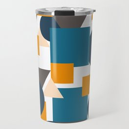 Geometric Mixture Travel Mug