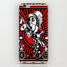 Hatter Red iPhone Skin