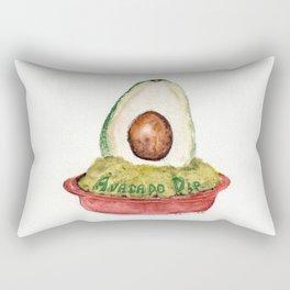 Avacado Dip Rectangular Pillow