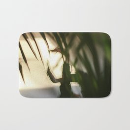 Dancing people, dance, shadows, hands and plants, blurred photography, dancer, forest, yoga Bath Mat